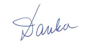 handtekening Danka